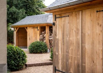 Vanhauwood - eiken tuinberging en garage 9