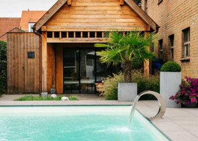 Vanhauwood_poolhouse met keukentje eik 4