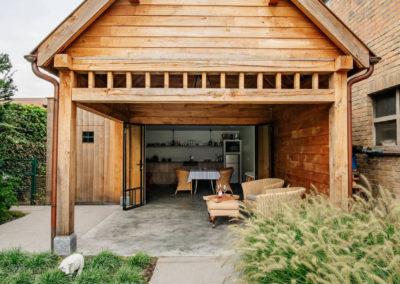 Vanhauwood_poolhouse met keukentje eik 8