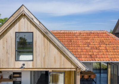 Vanhauwood_eikenhouten poolhouse klassiek modern